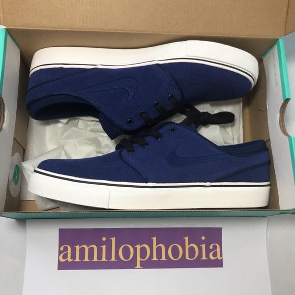 e27139d8b2 Nike Shoes   New Youth Stefan Janoski Gs Size 55y Blue   Poshmark